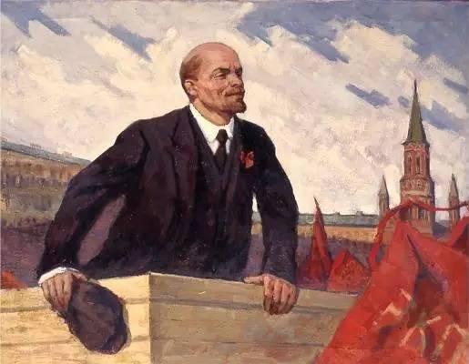 列宁诞辰 | 列宁在革命中心城市彼得堡-激流网