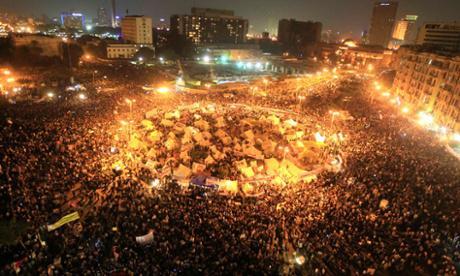 """""""工人们在让统治者快滚蛋"""" ——细谈埃及革命-激流网"""