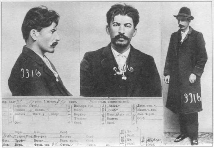沙皇警察眼中的流放犯斯大林-激流网