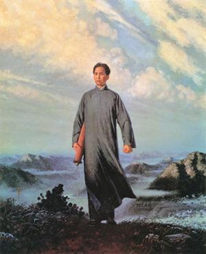 毛泽东是个90后-激流网