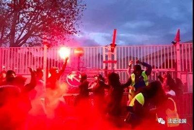 罢课放火烧学校,法国中学生熊孩子加入黄马甲运动-激流网