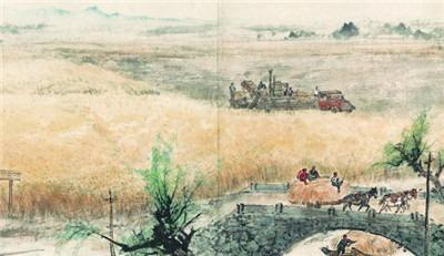 美术印记70年|那些画中的拖拉机,满是情感、希望与憧憬-激流网