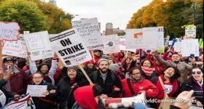 美国罢工运动风起云涌-激流网