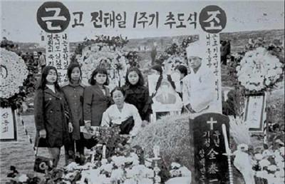 韩国战斗性工人全泰一小传-激流网