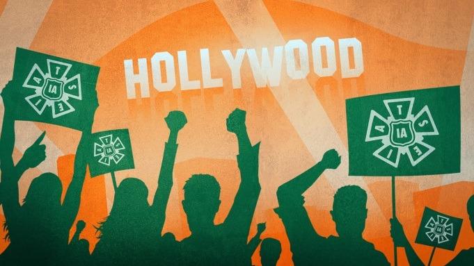 """""""线下工人""""要罢工,好莱坞差点儿瘫痪"""